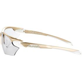 Alpina Twist Five HR S VL+ Okulary rowerowe, prosecco-white/black